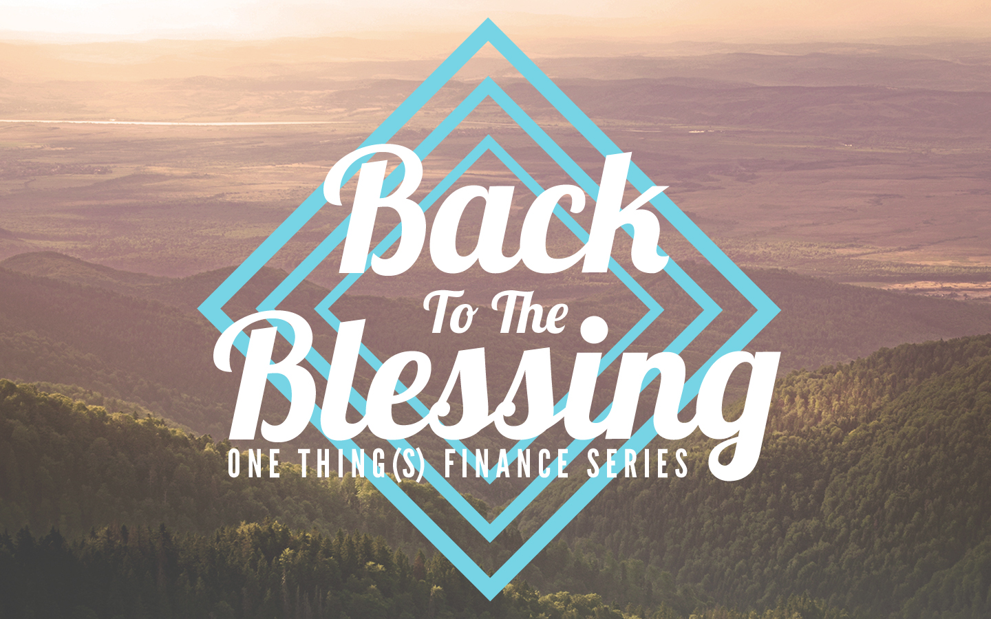 Back To The Blessing