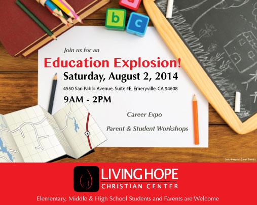 education, explosion