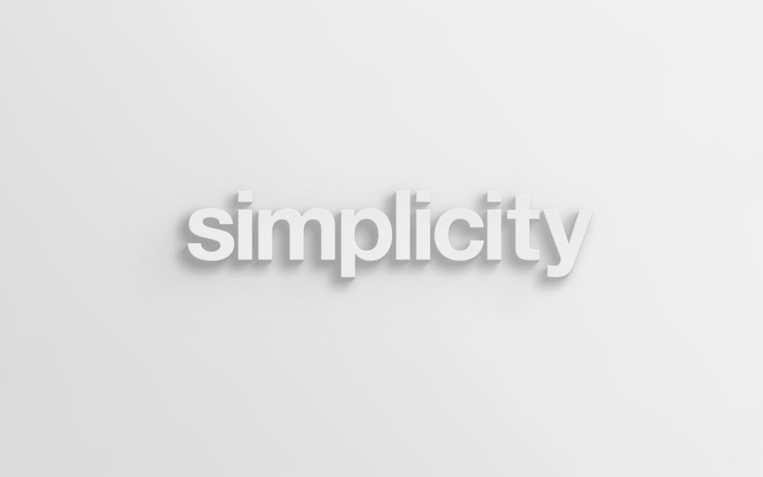 Simplicity: Living From Enough