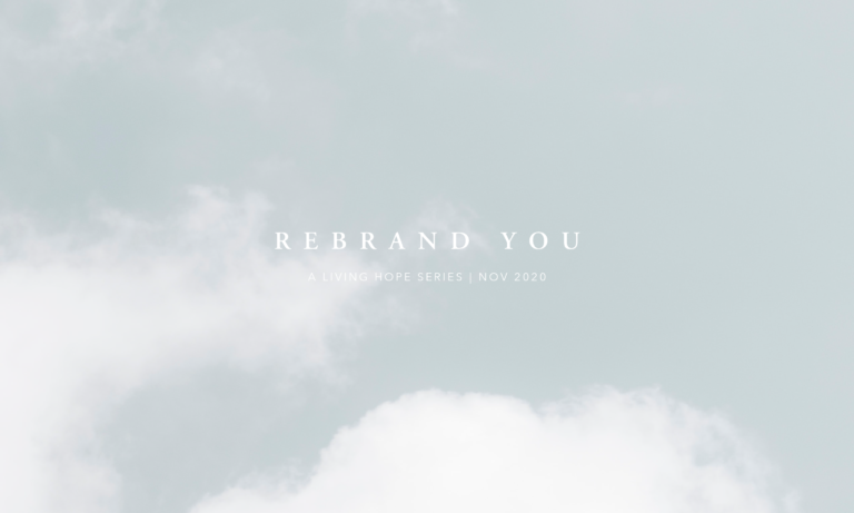 Rebrand You Pt. 3 | Jacob, You are Israel