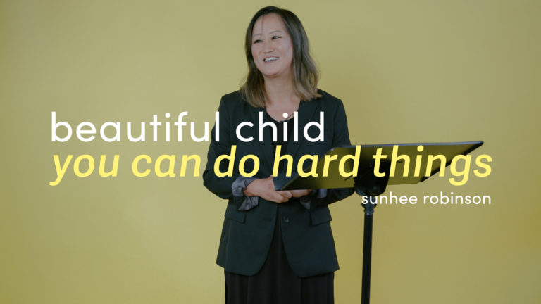 Beautiful Child, You Can Do Hard Things