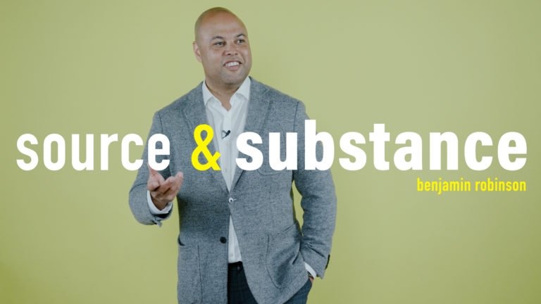 Source and Substance