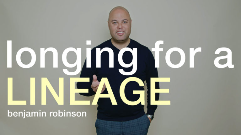 This is Lineage pt. 1 | Longing for a Lineage