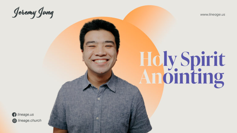 Holy Spirit Anointing